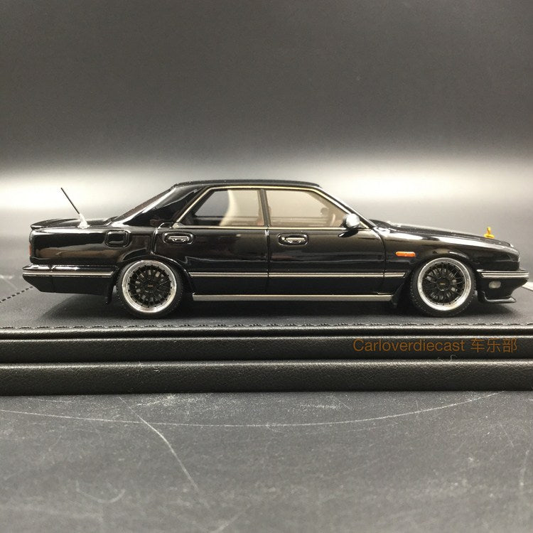 Ignition Model Nissan Gloria Cima (Y31) Black Resin Scale 1/43 Model (IG1088)