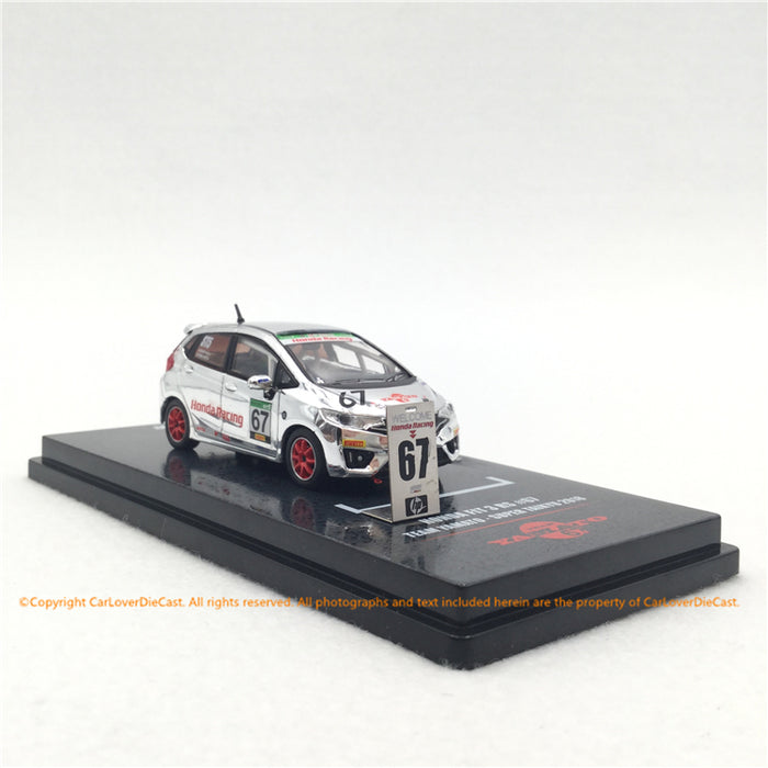 "INNO64 1:64 Honda FIT 3 RS #67 ""J"" S Racing Team Yamoto (CarLoverDieCast exclusive edition) die cast model  ( IN64-GK5-YA67) available now"