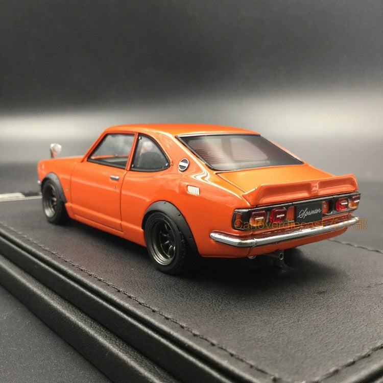 Ignition Model Toyota Sprinter Trueno (TE27) resin scale 1:43  (IG0736) available now