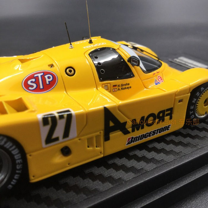 Ignition Model From A  Porsche 962C (#27) 1989 JSPC Resin Scale 1/43 Model (IG1206) available now