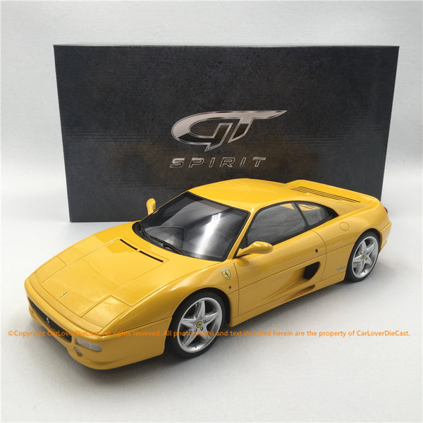 GT Spirit 1:12 F355 BERLINETTA (KJ032) modèle de voiture en résine Asian Exclusive Edition disponible maintenant