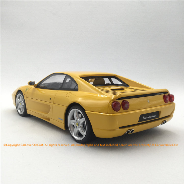 GT Spirit 1:12  F355 BERLINETTA  (KJ032) resin car model Asian Exclusive Edition available now