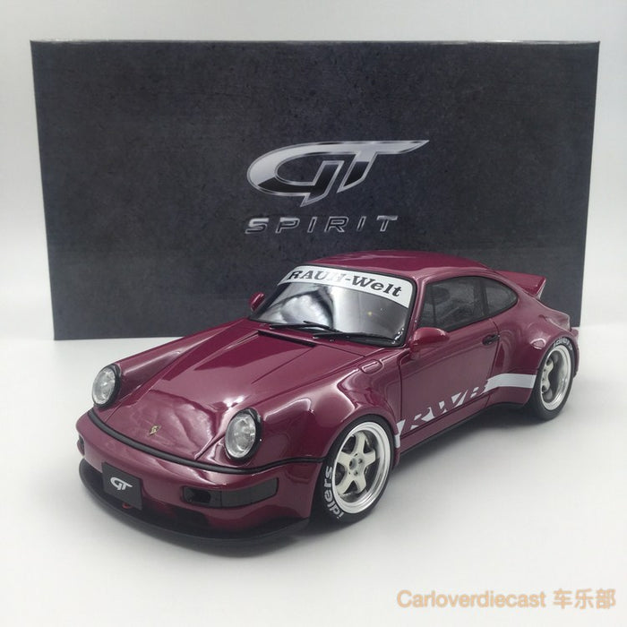 (GT Spirit) Porsche 964 RWB duck tail Resin Scale 1/18 Limited 504 pcs (KJ016) Exclusive by Carloverdiecast