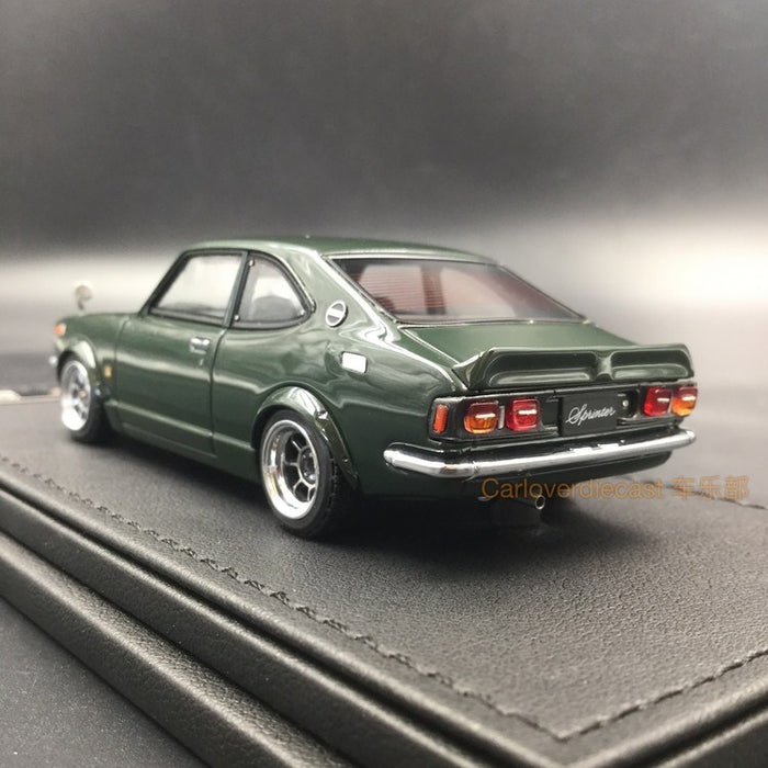Ignition Model Toyota Sprinter Trueno (TE27) resin scale 1:43  (IG0734) available  now