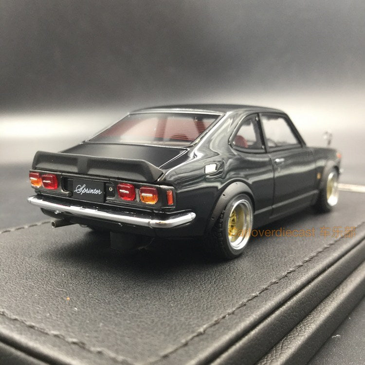 Ignition Model Toyota Sprinter Trueno (TE27) resin scale 1:43  (IG0738) available now