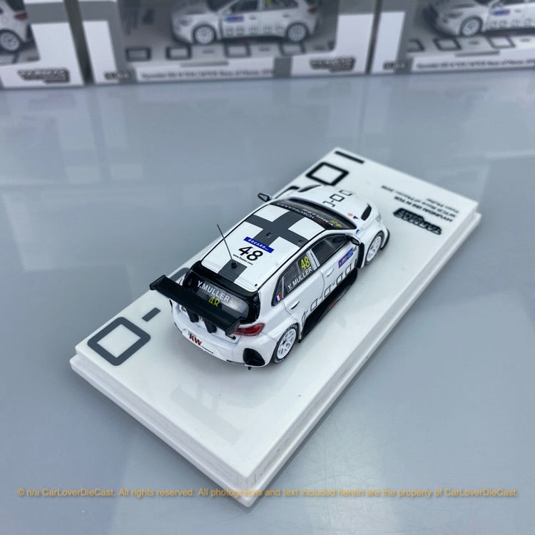 Tarmac Works 1:64 Hyundai i30 N TCR WTCR Race of Macau 2018 Yvan Muller  (T64-031-18WTCR48) diecast Car model