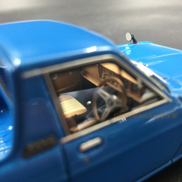 Ignition Model Nissan Sunny Truck Long (B121)  Blue (ST-Wheel)Resin Scale 1:43 (IG1114)