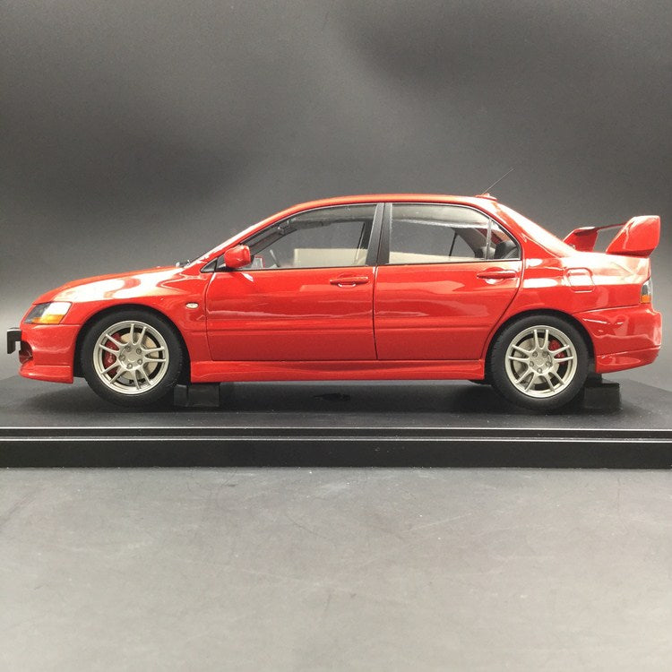 Super A 1:18 Mitsubishi Laner EVO 9 diecast full open (Red) limited 399 pcs each color