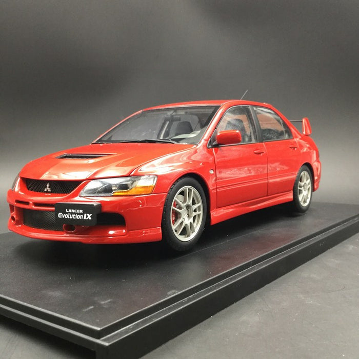 Super A 1 18 Mitsubishi Laner Evo 9 Diecast Full Open Red Limited 399 Pcs Each Color