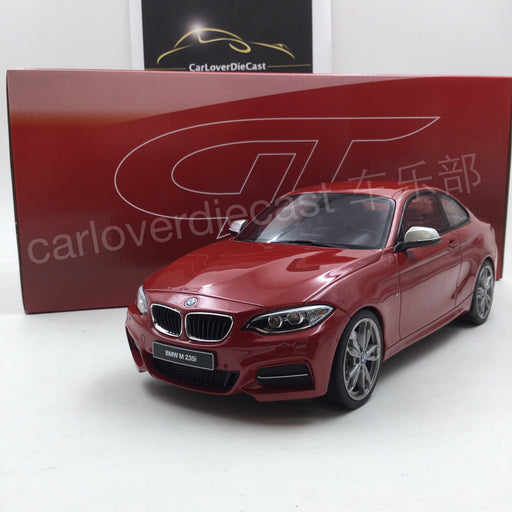 BMW M235i Resin Car Scale 1/18 Model By GT Spirit (GT039) Limited 1250 units