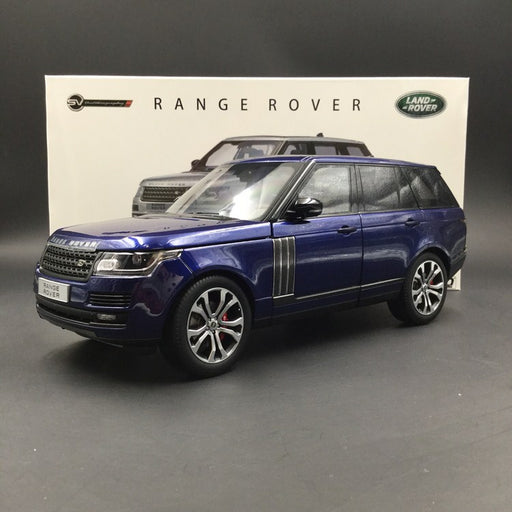 LCD 1:18 LandRover Range Rover (blue) diecast car model available now (LCD18002)