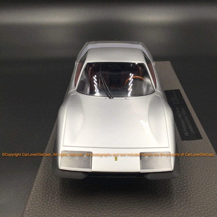 Top Marques  1:18  P6 Prototype (Silver) resin car model (TOP094B)