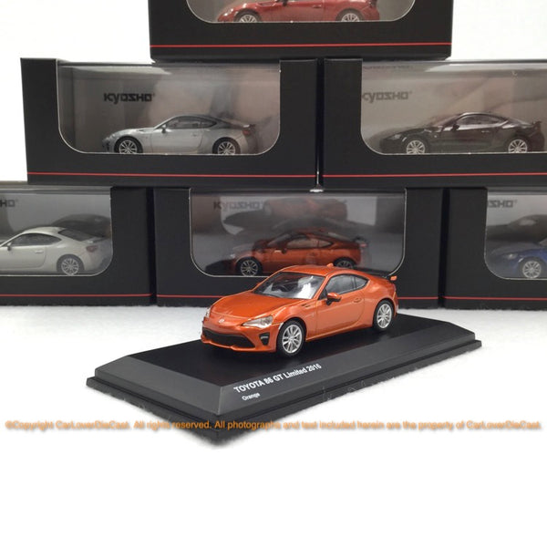 Kyosho 1:64 Toyota 86 (3 options) Diecast car model available Now (KS07070)