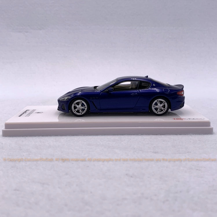TSM 1:43 Maserati GranTurismo MC  Blu Inchiostro (TSM430397) resin model