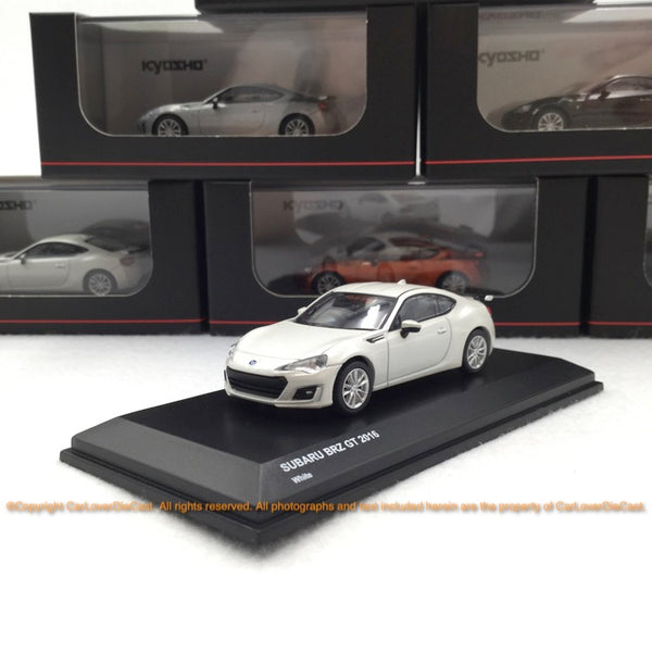 Kyosho 1:64 Subaru BRZ (3 options) Diecast car model available Now (KS07070)