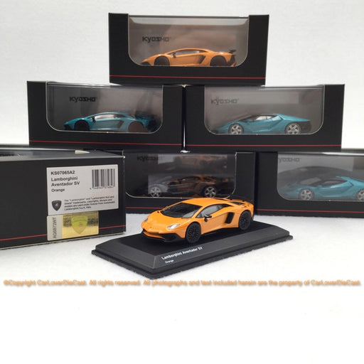 Kyosho  1:64 Lamborghini LP700-4 SV (Orange) 07065A2-J Diecast car model available