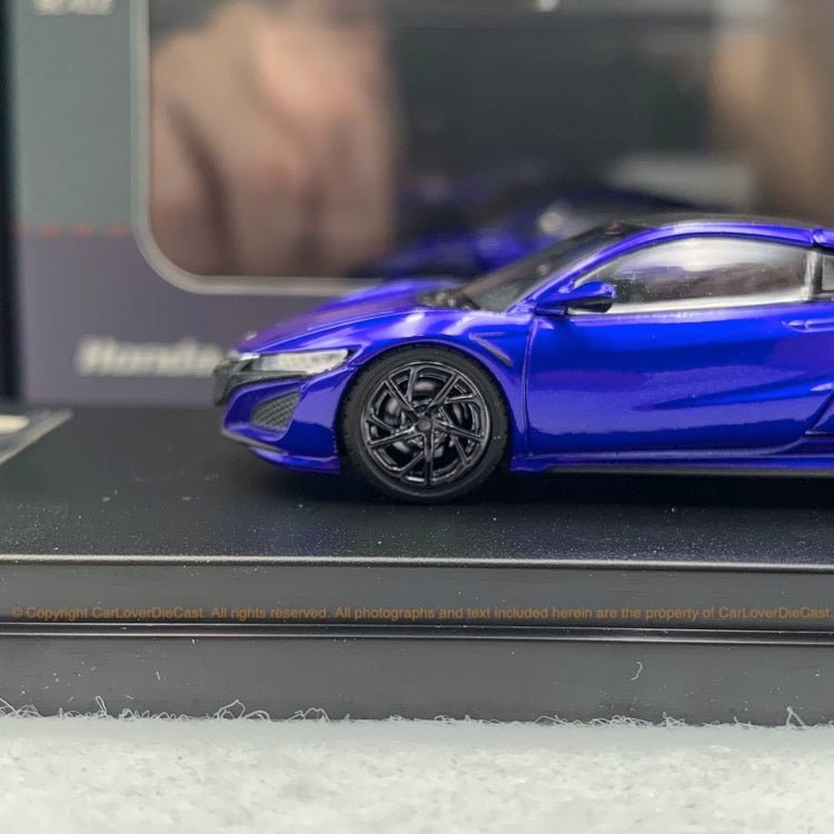 LCD 1:64 Honda NSX  (Blue) diecast  car model available now LCD64004BU