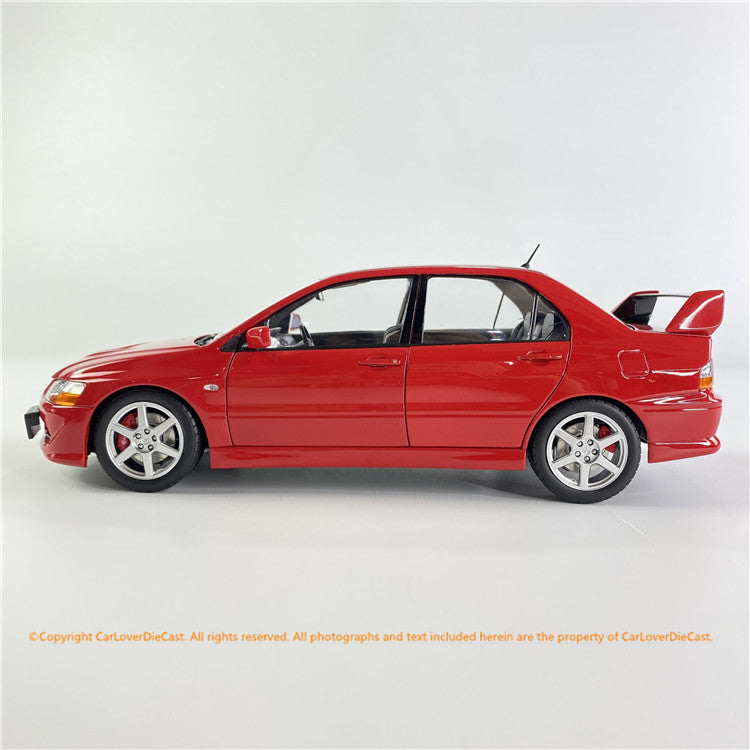 Super A 1:18 Mitsubishi Lancer EVO 8 diecast car model Full open (3 colors) each limited 333pcs available now