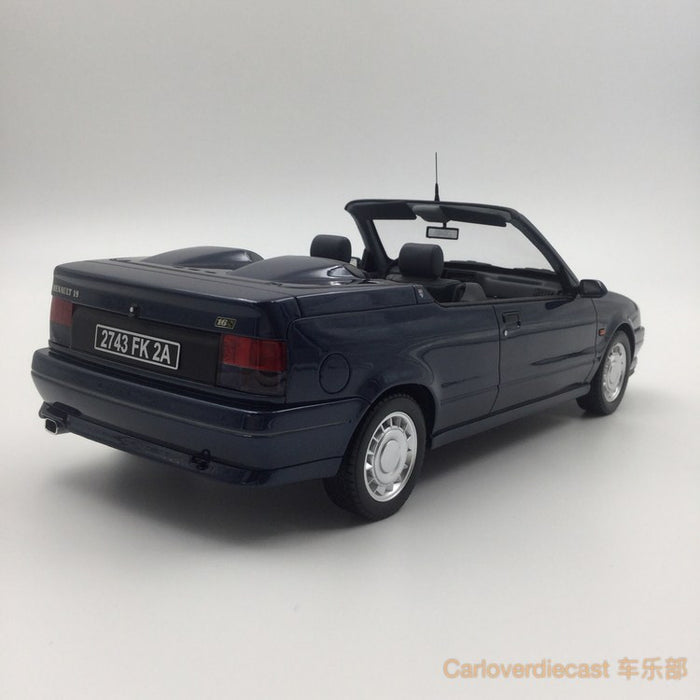 (OTTO Mobile) Renault 19 16S Cabriolet Resin Scale 1/18 Model (OT673) Limited 999 units available now