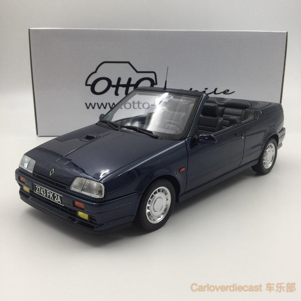 (OTTO Mobile) Renault 19 16S Cabriolet Resin Scale 1/18 모델 (OT673) Limited 999 units available