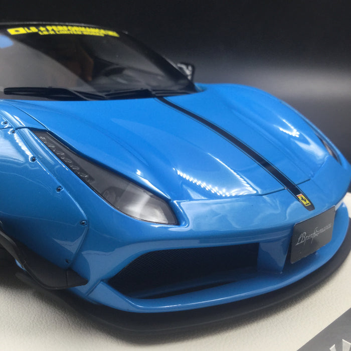 Kingston - Liberty Walks 488 Resin Scale 1:18 Baby Blue available now Limited 20 pcs