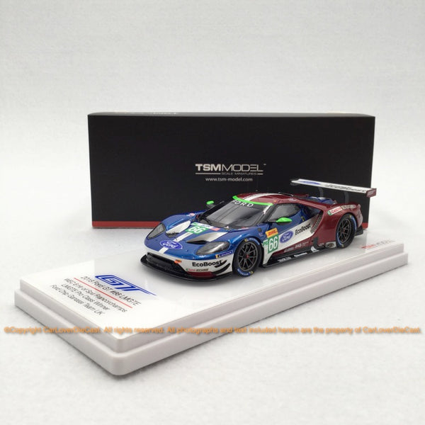 TSM 1:43 Ford GT LMGTE #66 2018 WEC 6 hr.of Spa Francorchamps (430406)