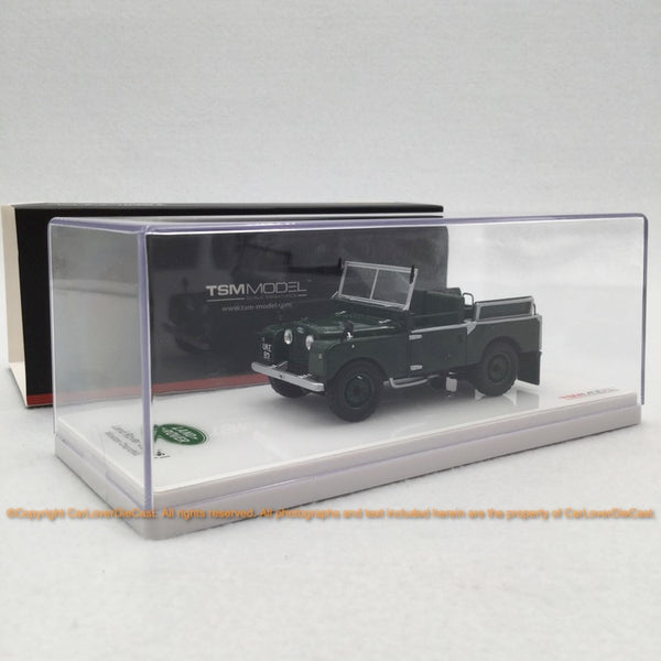 TSM 1:43 LandRover Series I 1954 Winston Churchill UKE80 resin car model (TSM430340) available now