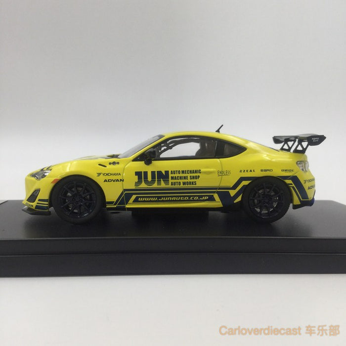 (Tarmac Works) Toyota 86-tuned By JUN  diecast scale 1:43 (T43-005-JUN)