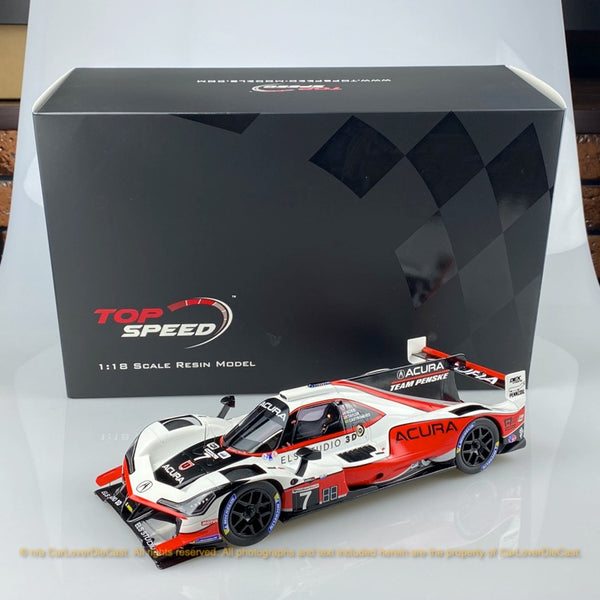 TopSpeed 1:18 Acura DPi ARX-05 #7  2019 Daytona 24 Hr. 3rd Place (TS0277) resin car model