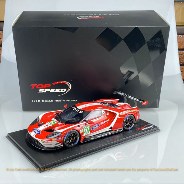 Topspeed 1:18 Ford GT #67  2019 24Hrs of Le Mans LM GTE-Pro  Ford Chip Ganassi Team UK (TS0280) available now