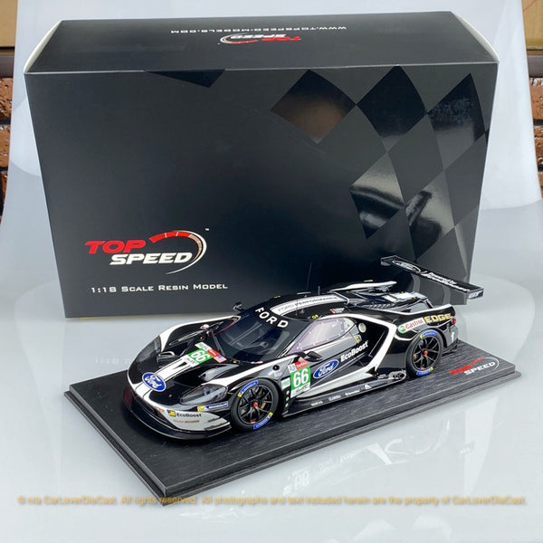 Topspeed 1:18 Ford GT #66  2019 24Hrs of Le Mans LM GTE-Pro  Ford Chip Ganassi Team UK (TS0279) available now