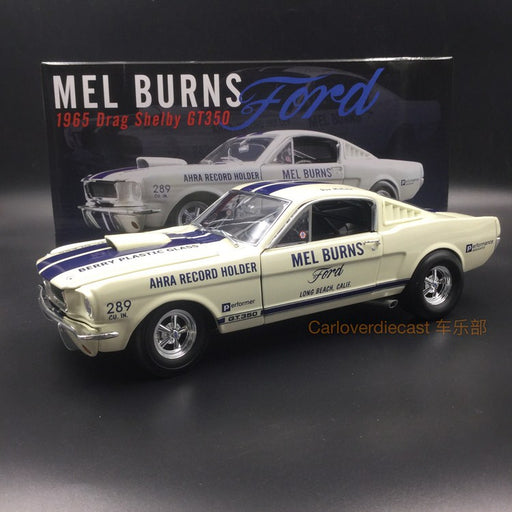 ACME 1:18 1965 Shelby GT350 Mel Burns Diecast Scale 1:18 A1801811 available now