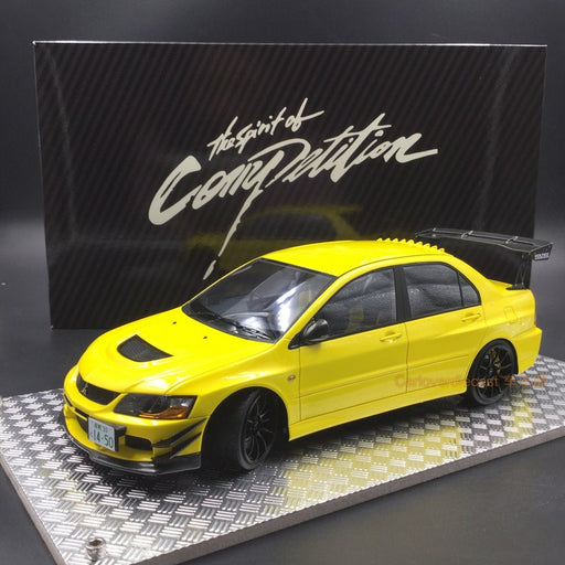 AGU 1:18 Mitsubishi Lancer EVO IX resin model (Yellow) Modified Version of A (AGU-016CR) available now