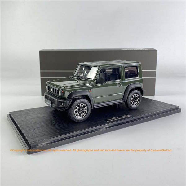 Ignition Model 1/18 SUZUKI Jimny SIERRA JC (JB74W) Jungle Green  (IG1708) resin car model available now