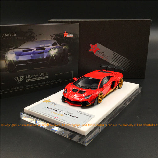Fuelme 1:43 LB Works Aventador 50th Limited edition (Miura Homage) resin car model (FM43007LM-50LE-JN02)