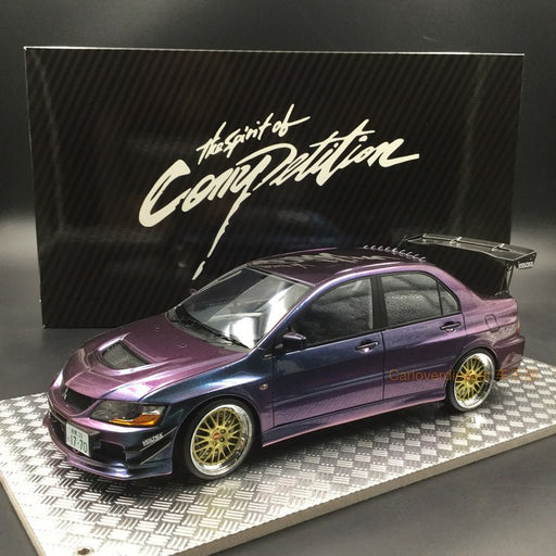 AGU 1:18 Mitsubishi Lancer EVO IX resin model (Chameleon) Modified Version of A (AGU-015CR) available now