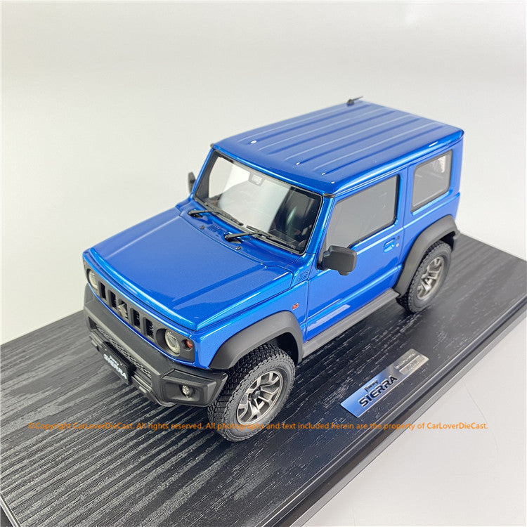 ignition Model 1:18 SUZUKI Jimny SIERRA JC (JB74W) Brisk Blue Metallic  IG1710 available  now