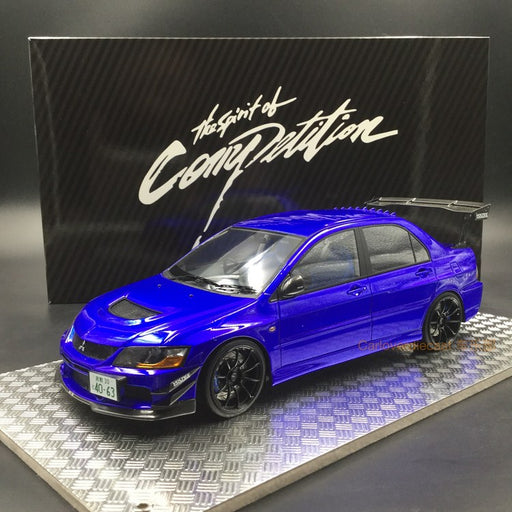 AGU 1:18 Mitsubishi Lancer EVO IX resin model (Blue) Modified Version of A (AGU-017CR) available now