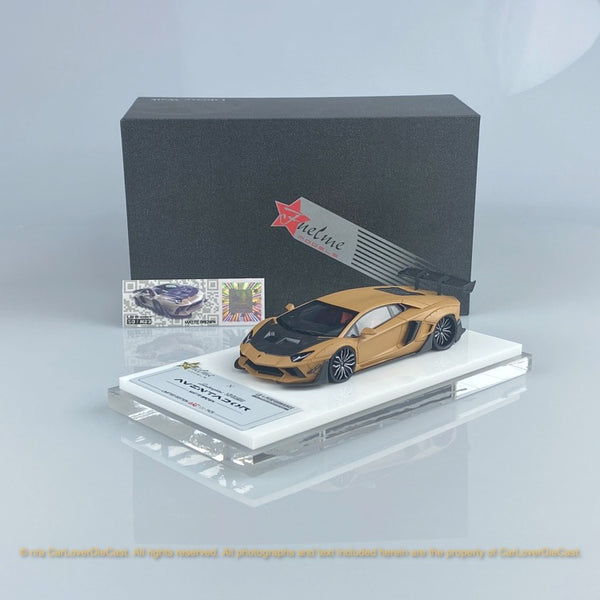 Fuelme 1:43 LB Works Aventador Roadster 50th Limited edition (Matte Brown) Resin Car model (FM43007LM-50LE-JN23) available now