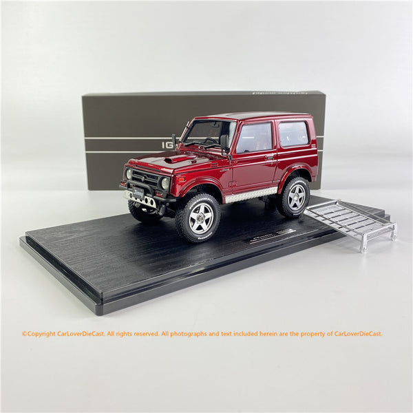 Ignition Model 1/18 SUZUKI Jimny (JA11) Red Metallic (IG1723) resin car model available now