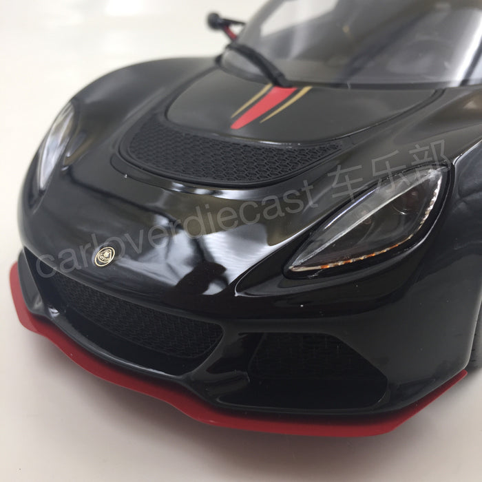 GT SPIRIT - LOTUS EXIGE S3 LF1 Resin Scale 1/18 Model By GT Spirit (GT087 )  Limited 500 units available  now