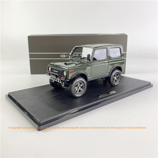 Ignition Model 1/18  SUZUKI Jimny (JA11) Green (IG1718) resin car model available now