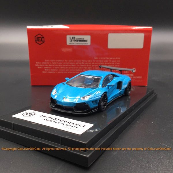 JEC 1:64 Liberty Walk Aventador (diecast metal)  baby Blue (J64-002-PB) available now