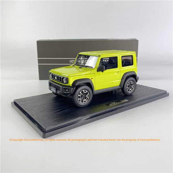Ignition Model  1/18 SUZUKI Jimny SIERRA JC(JB74W) Kinetic Yellow (IG1707) resin car model available now
