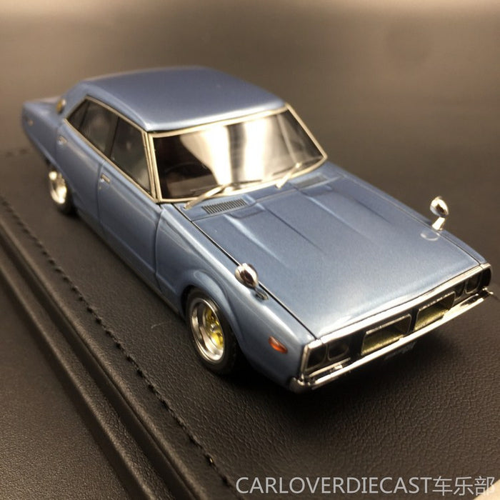 (Ignition Model) Nissan Skyline 2000 GT-X (GC110) Blue Resin Scale 1:43 (IG0388)