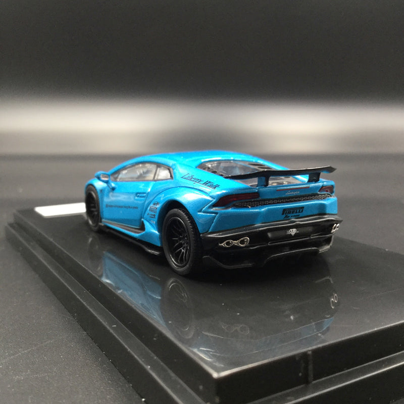JEC 1:64 Liberty Walk Huracan (diecast metal)  Baby Blue  (J64-003-PB) available Now