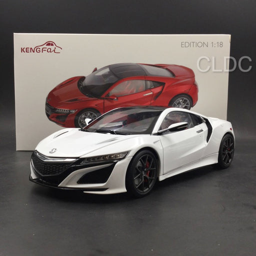KengFai 1:18 Acura NSX diecast (LHD) White full open (KF000503) available now