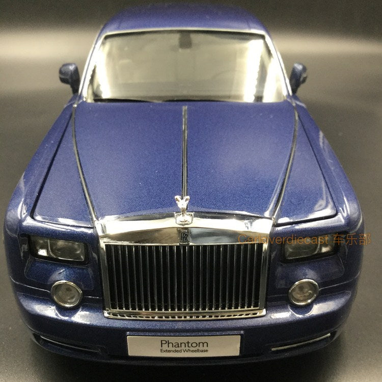 Kyosho - Rolls Royce Phantom EWB Diecast Scale 1:18 in Blue available now