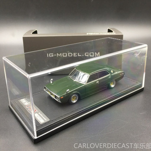 (Ignition Model) Nissan Skyline 2000 GT-X (GC110) Green Resin Scale 1:43 (IG0389)
