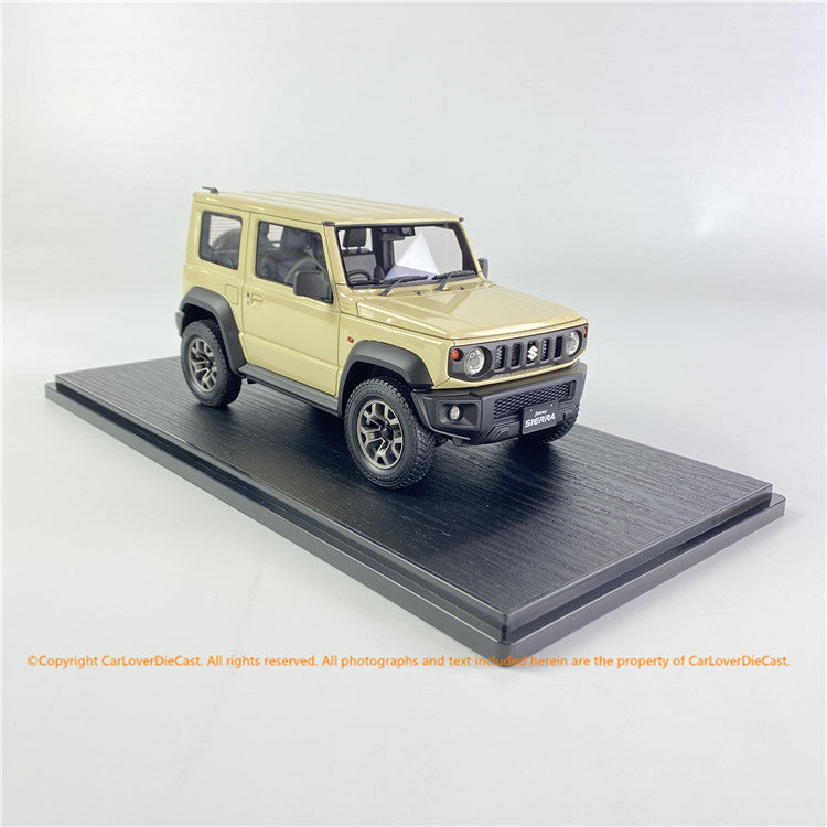ignition Model 1:18 SUZUKI Jimny SIERRA JC (JB74W) Chiffon Ivory Metallic  IG1709 available  now